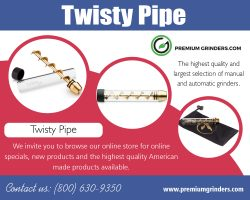 Twisty Pipe | 18006309350 | premiumgrinders.com