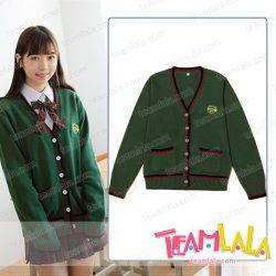 3色 学園風 JK女子高生 ニットセーター