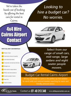 4×4 Hire Cairns Airport Contact