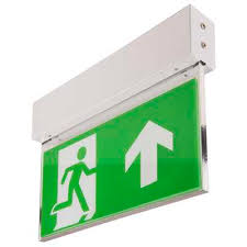 Emergency Exit Light, Don'T Get Into Trouble Because Of It