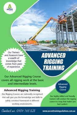 Advanced Rigging Training