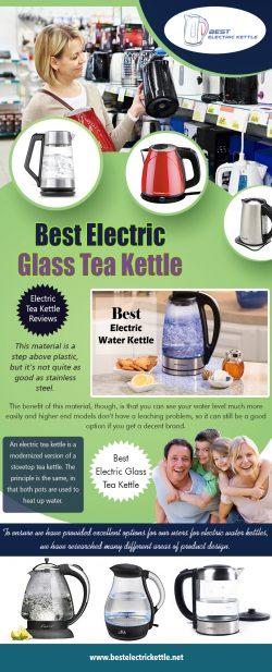 Best Electric Glass Tea Kettle