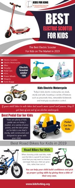 Best Electric Scooter for Kids | kidsforking.org