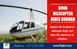 Book Helicopter Rides Durban | Call – 27729976907 | www.flight.tours