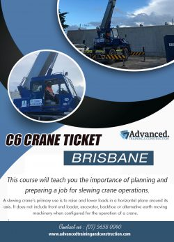 C6 Crane Ticket Brisbane | Call – 0756580040 | advancedtrainingandconstruction.com