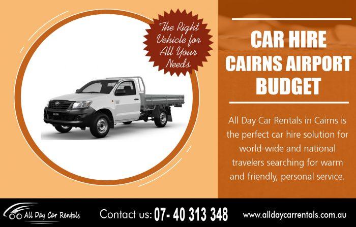 Car Hire Cairns Airport Budget