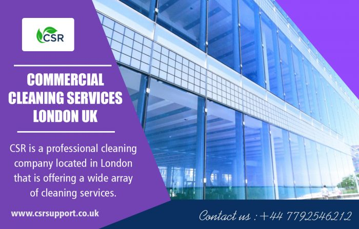 Commercial Cleaning Services in London UK