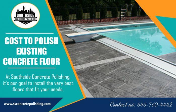 Cost to Polish Existing Concrete Floor