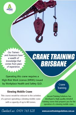 Crane Training Brisbane