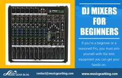 DJ Mixers for Beginners