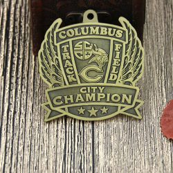 Custom Track Medals | Columbus Track and Field Custom Medals