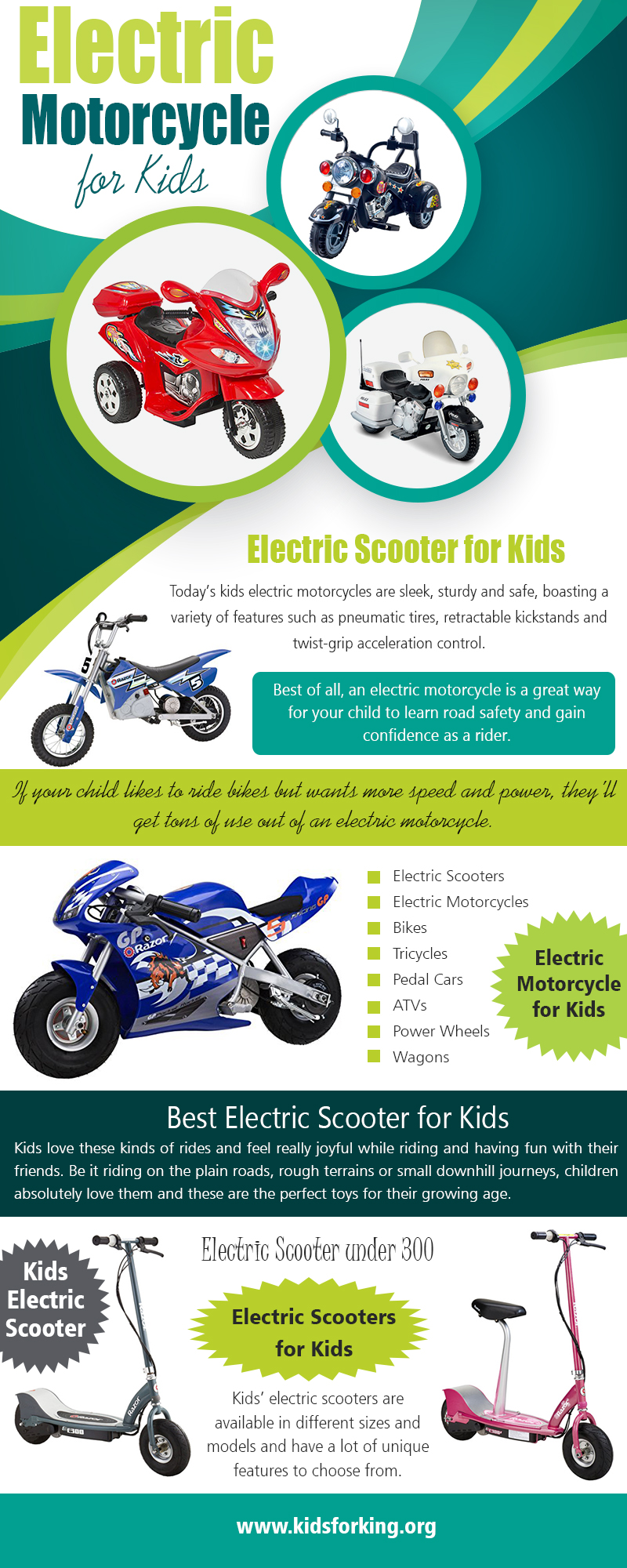 Electric Motorcycle for Kids | kidsforking.org