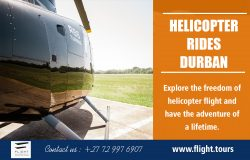 Helicopter Rides in Durban | Call – 27729976907 | www.flight.tours