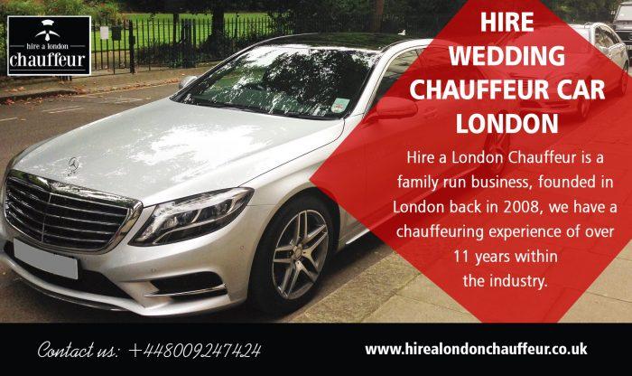 Hire Wedding Chauffeur Car London
