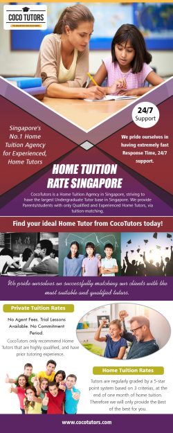 Home Tuition Rate Singapore | Call – 65-9177-9055 | www.cocotutors.com