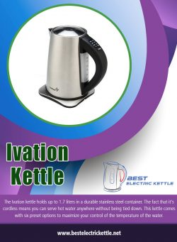 Ivation kettle