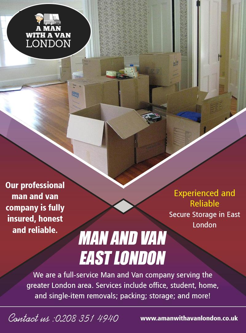 Man and Van East London