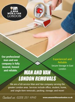 Man and Van London Removals