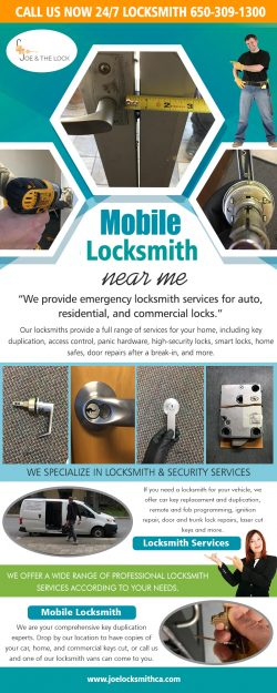 Mobile Lock Smith near me
