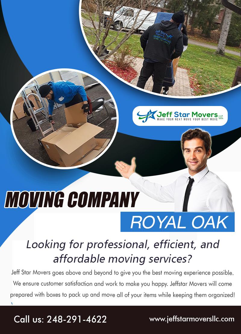 Moving Company in Royal Oak