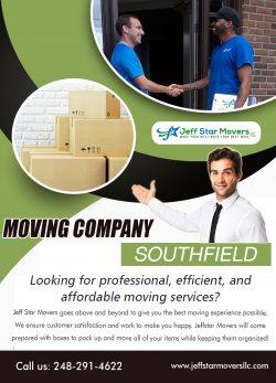Moving Company Southfield