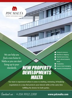 New Property Developments Malta | Call – 356 9932 2300 | pdcmalta.com
