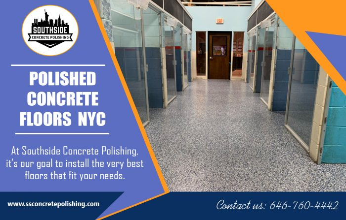 Polished Concrete Floors NYC