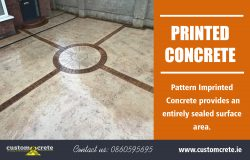 Printed Concrete | Call us 0860595695 | customcrete.ie