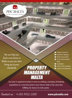 Property Management Malta | Call – 356 9932 2300 | pdcmalta.com