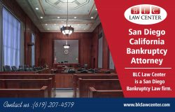 San Diego California Bankruptcy Attorney