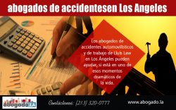 abogados de accidentesen Los Angeles