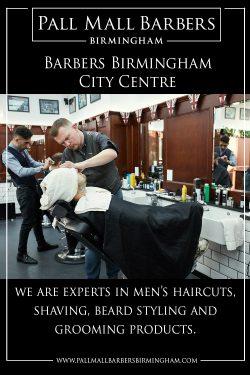 Barbers Birmingham City Centre | Call 01217941693 | pallmallbarbersbirmingham.com