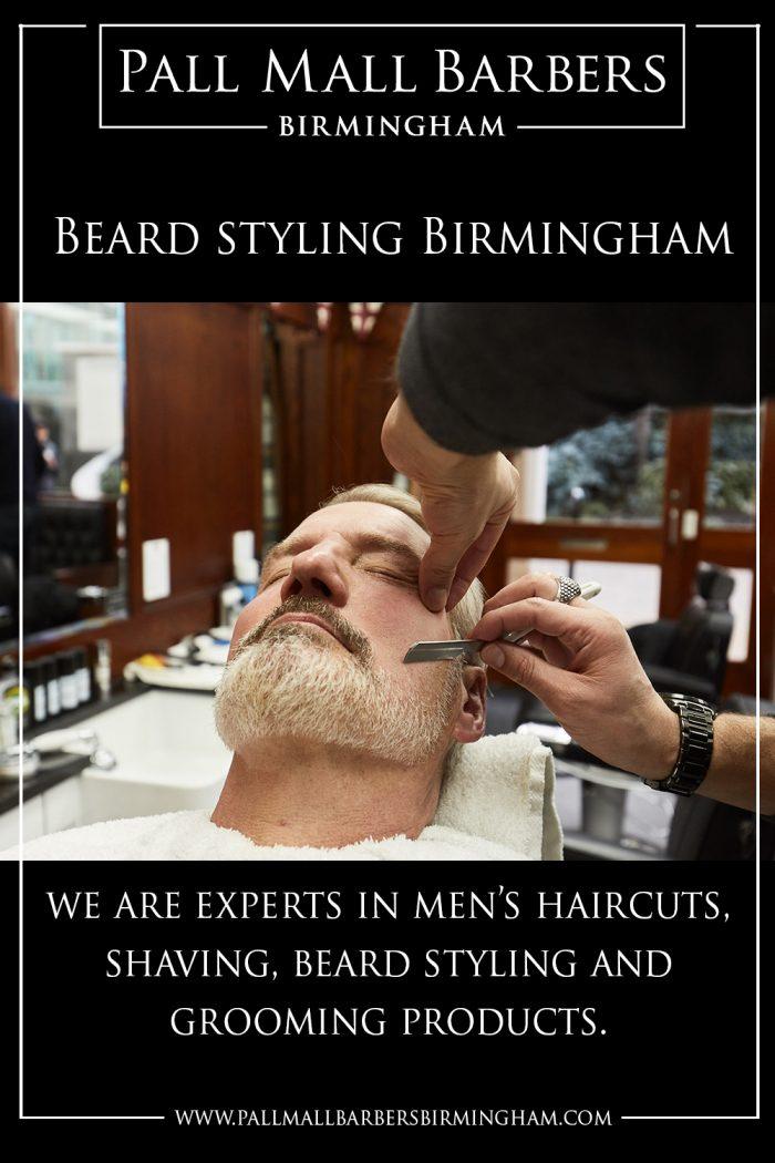 Beard Styling Birmingham   Call 01217941693   pallmallbarbersbirmingham.com