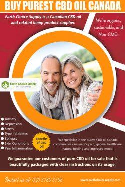 Buy Purest CBD Oil Canada | earthchoicesupply.com | Call – 416-922-7238