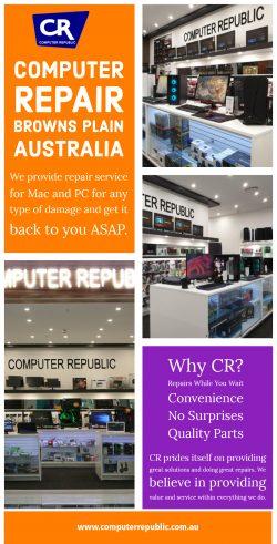 Computer Repair Browns Plain Australia | Call- 0734725271 | computerrepublic.com.au