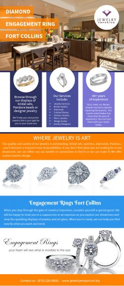 Diamond Engagement Ring Fort Collins | Call-9702265808 | jewelryemporium.biz