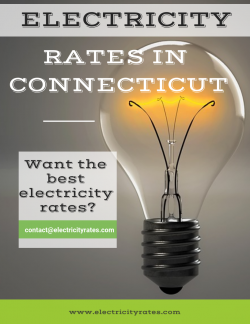 Electricity rates in Connecticut