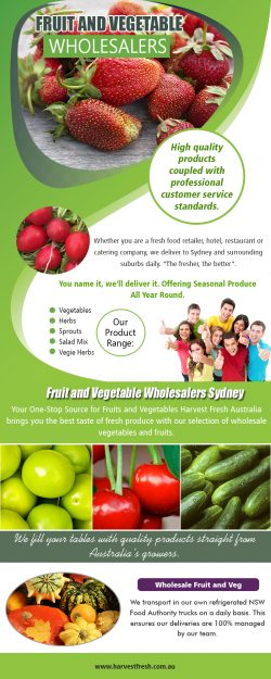 Fruit and Vegetable Wholesalers AU