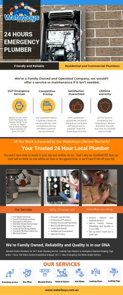 24 Hours Emergency Plumber