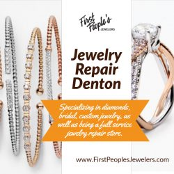 Jewelry Repair Denton | Call – 940 383-3032 | FirstPeoplesJewelers.com