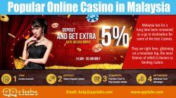Popular Online cas1no In Malaysia | qqclubs.com