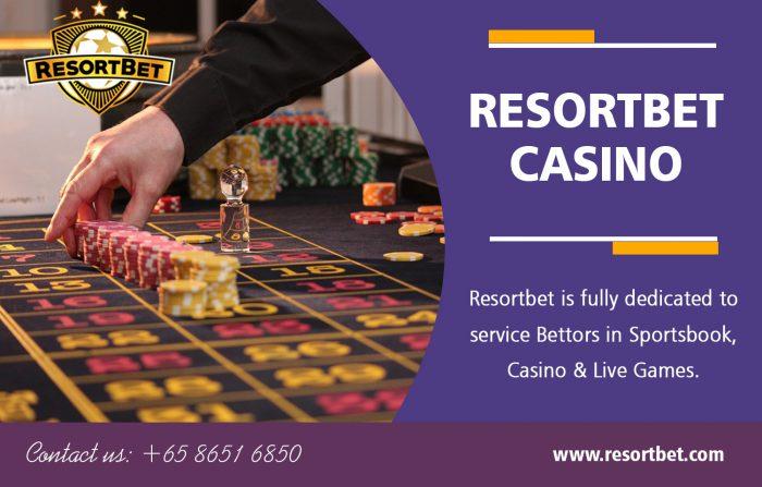 Resortbet Casino | Call – 65 8651 6850 | resortbet.com