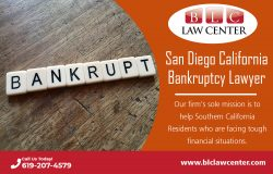 San Diego California Bankruptcy Lawyer |(619) 207-4579| blclawcenter.com