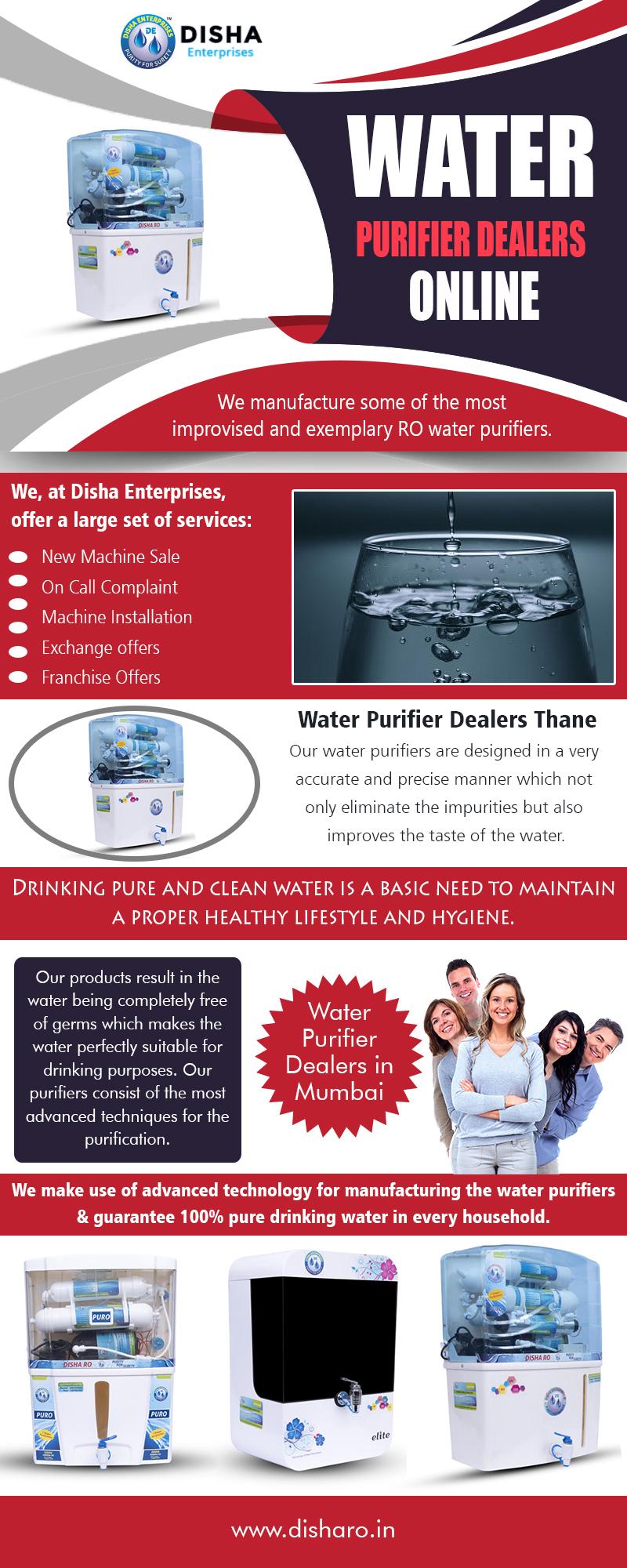 Water Purifier Dealers Online