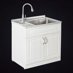 Stainless Steel Laundry Cabinet Is Sought After By People