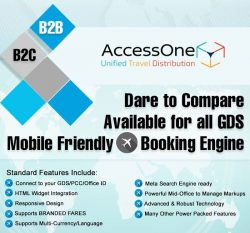Accessone : Travel Booking Engine & API