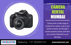 Camera Rental Mumbai