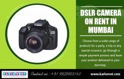 DSLR Camera on Rent in Mumbai