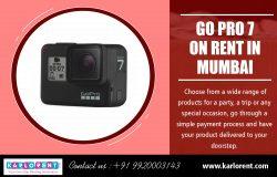 Go pro 7 on Rent in Mumbai