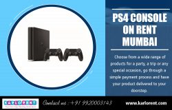 PS4 Console on Rent Mumbai